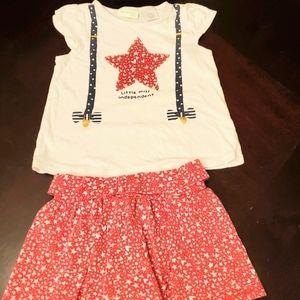 First impressions Mix & Match Girls Top & Skirts